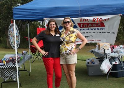Tracey and I- Golf Tournament